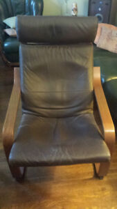 Ikea Poang Armchair with footstool 2 available