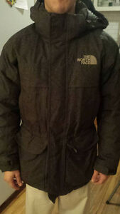MANTEAU NORTH FACE LONG TAILLE S (JACKET SIZE S) NEGO