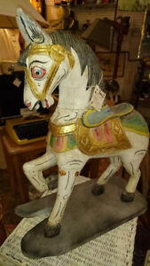 Horse on stand $49
