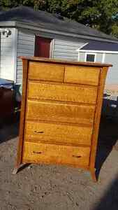 Hand Crafted Solid Oak Dresser 6 Drawers Peterborough Peterborough Area image 1