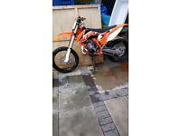 KTM sx 250cc