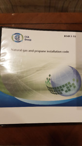 Natural Gas and Propane code books B149.1-15 & B149.2-15