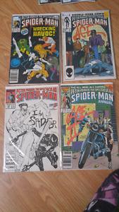 4 Spiderman comics
