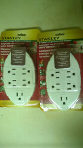 """6 outlet """"Surge Protected"""" adapter"""