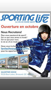 **EMPLOIS SPORTING LIFE DIX30**