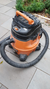 Rigid 14 gal. 6HP wet / dry vac
