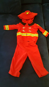 Fire fighter costume 6-9 months