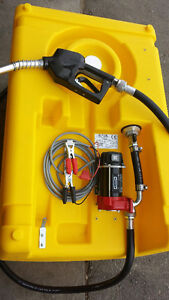 New 200L portable Fuel tank for sale with pump and nozzle Strathcona County Edmonton Area image 3