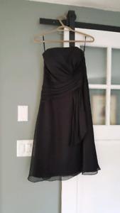 black evening dress - size 6