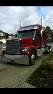 Beautiful Red 2012 Freightliner Coronado 745,000kms