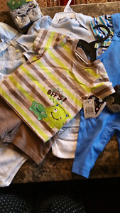 Brand new baby boy clothes