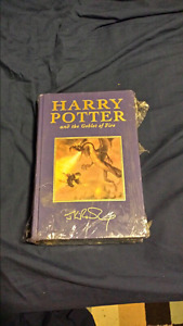FIRST EDITION Harry Potter and the Goblet of Fire