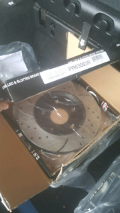 Brand New Brake Pads+Rotors 2012 Chrysler Town and Country