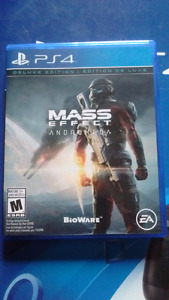 Mass effect Andromeda ps4 mint con.