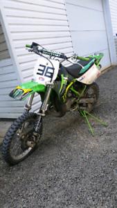 Kawasaki kx85 2001