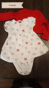 girls christmas dress 12 months