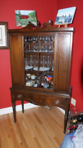 Antique Display Cabinet Dining Room