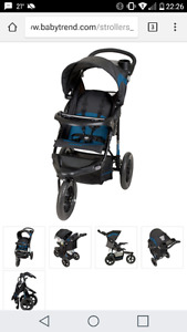 NEW Baby trend sport LX expedition jogger stroller
