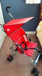 Bily Deluxe Umbrella Stroller (Red)