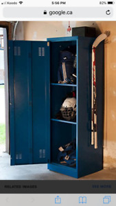 AllSport Hot locker for Hockey and Football Gear with Fan