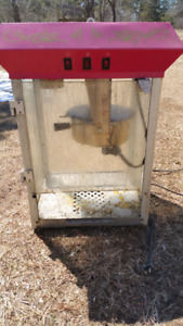 Popcorn Machine Commercial Size $60