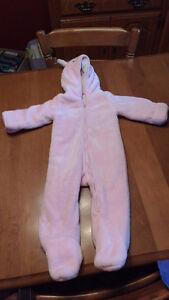 winter bunting suit
