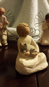 Willowtree figurines and frame