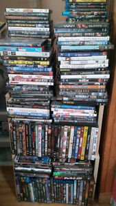 Large Lot of Blu-Ray and DVDs