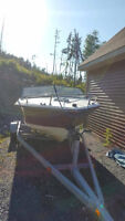 Selling boat, motor and trailer