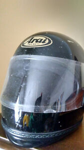 Arai motorcycle helmet (medium)