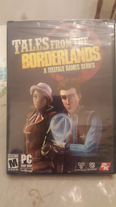 Tales from the Borderlands pc video game, new, factory sealed