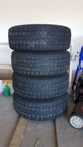 4 Winter Tires on Rim!! (For a Ford F-150)