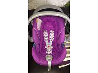 Mamas and Papas car seat - Purple