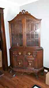 Antique hutch/desk