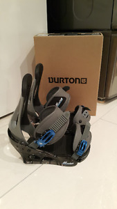 Men's BURTON Freestyle snowboard bindings Medium NEW in box