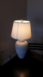 Lamp and shade for sale. $ 10