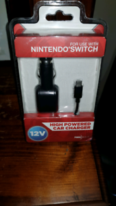 Nintendo switch car charger brand new must go Huntfield Heights Morphett Vale Area Preview