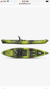 2018 Perception Pescador Pro 12 fishing kayak