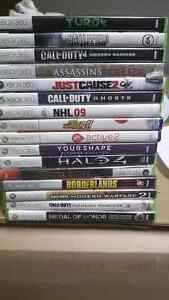 320GB Xbox 360 Slim / 17 Games 2 Controllers