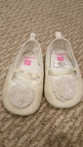 6 to 9 month white baby girl flats