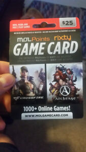 MolPoints Game Card