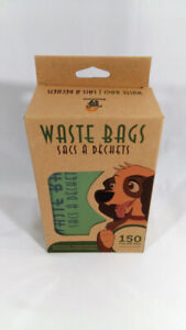 Biodegradable Poop Bags for Dogs 150 bags by Petstone Unscented