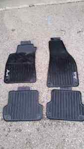Audi A4 OEM rubber mats set of 4