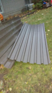 Tin metal roofing 6 pieces  $25 each