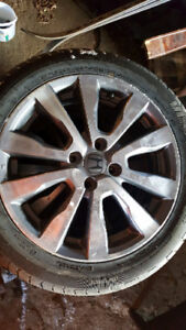 -185/55/16 -Honda 16 inch OEM rims and tires