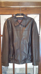 Mens Danier Leather Coat Jacket