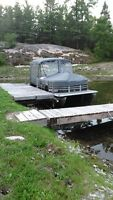 21 foot Legend Pontoon with 50 hp Mercury