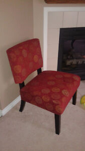 Two Jasmine Accent Chairs-excellent condition