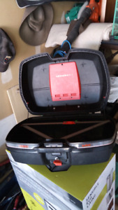 Givi top case E36 with backrest pad