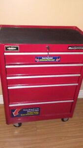 Mastercraft 5-Drawer Cabinet, Deep Red, 24-in